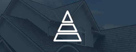 Pyramid Structure Symbolizing Web Security